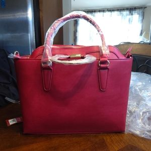 2in1 STYLISH SATCHEL - RED